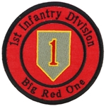 1st Infantry Division, Veteran Patches
