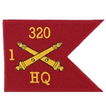 Field Artillery Guidons Patches