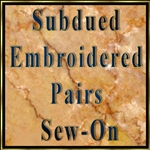 Subdued Sew-On