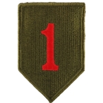 Shoulder Sleeve Insignia, Army Green Service Uniform, Color with Velcro®