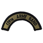 Patch, 129th Army Band Tab Color