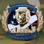 Challenge Coin, President of the United States (POTUS), Donald J. Trump