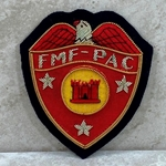 FMF-PAC Engineer, USMC, Bullion, Only 1 in Stock!!