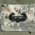 ACU Sew-on Air Assault Badge New Type
